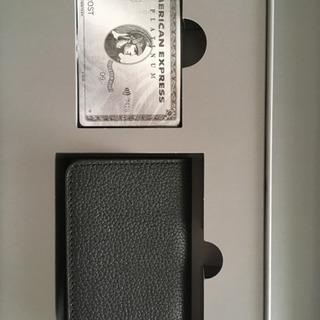 非売品 本革製名刺入れ(またはカードケース) & オリジナルトラ...