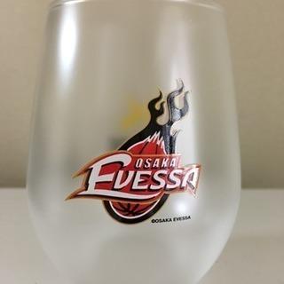 大阪エヴェッサのグラス