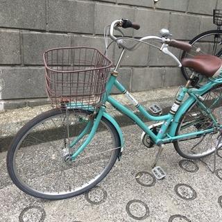 中古自転車(錆あり、後ろタイヤパンク、横浜別所インターあたりまで...