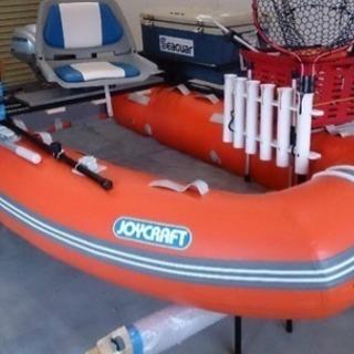 ホンダ2馬力船外機付きゴムボート レンタルできます