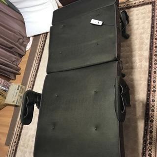 ATEXリクライニング付き折りたたみベッド