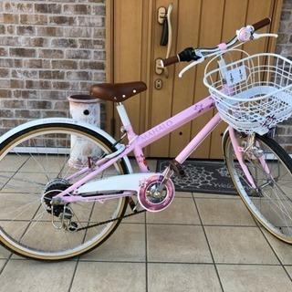 子供自転車 24型 ピンク
