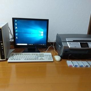 【受渡済】windows10 デスクトップパソコン 無料 …