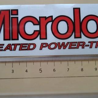 【新品】ステッカー Microlon マイクロロン
