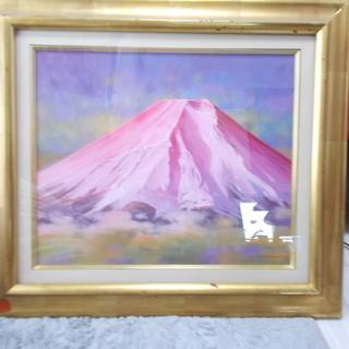 絵画 嶋津 和幸 の 富士朝焼け