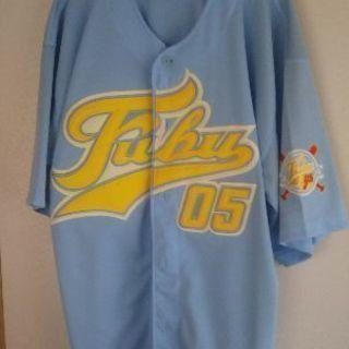 FUBU ベースボールシャツ  HIPHOP B-BOY