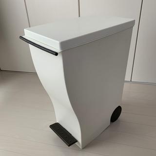 kcud クード ペダル式 ゴミ箱 33リットル  ブラウン 黒?