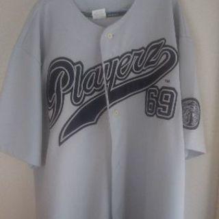 PLAYERS69 ベースボールシャツ グレー ローライダー H...