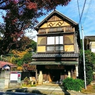 【北鎌倉】カフェスタッフ 落ち着いた雰囲気の古民家カフェ