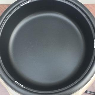 格安で!タイガー 電気グリル鍋◇深なべ 3.4L ガラス蓋付 保温~230度 - 売ります・あげます