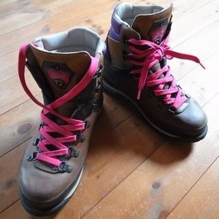 〈値下げ〉本革登山靴 23.0cm ライケル(現:マムート)  女性用