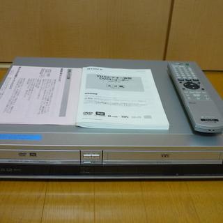 SONY VHSビデオ一体型DVDレコーダー