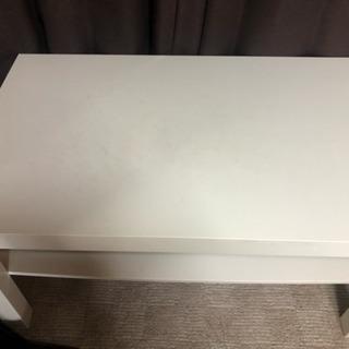0円 IKEA 白コーヒーテーブル
