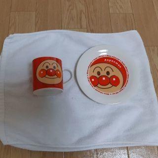 アンパンマン マグ&ケーキ皿セット