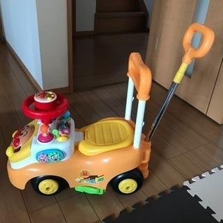 【取引中】アンパンマン よくばりビジーカー押し棒