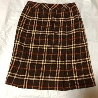 バーバリーブルーレーベル 膝丈スカート 38サイズ