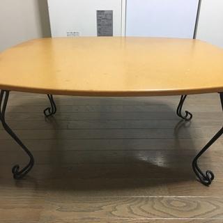 折り脚ローテーブル(座卓)