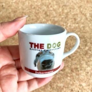 THE DOG ドーベルマンの小さなマグカップ