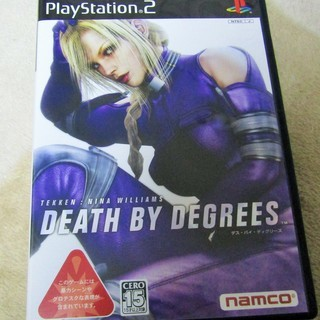 ☆PS2/DEATH BY DEGREES デイ・バス・ディグリ...