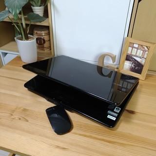 ブルーレイ対応☆ 綺麗で可愛い光沢クリスタルブラック♪ 高性能core2 メモリ4G NEC Lavie 大画面 最新Windows10 64Bit 大容量160G 黒 高級感 15.4インチ マウス付き  ノートパソコン 無線LAN Wi-Fi対応  DVDドライブ − 福岡県