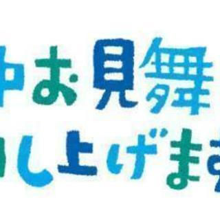 令和!オリジナル暑中見舞い♡宛名書き不要!の画像