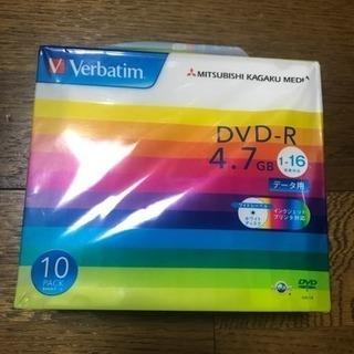 商談中 DVDR 4.7GB データ用 10パック 未使用