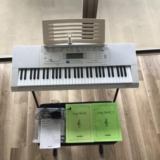 キーボード 楽器 光ナビゲーション CASIO LK-222 +...
