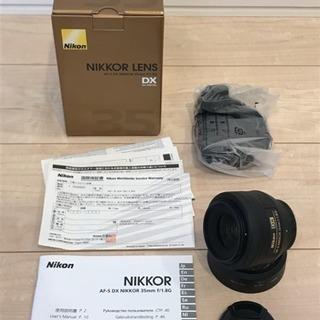 (ほぼ新品)Nikon AF-S DX NIKKOR 35mm ...
