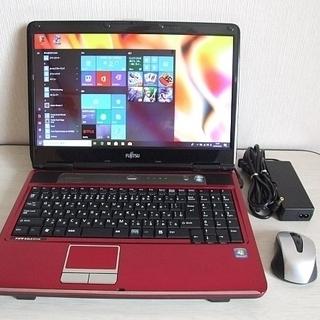 高速SSD240GB搭載 FMV-BIBLO NF/G50…
