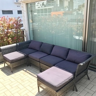 IKEA 屋外用 ソファ