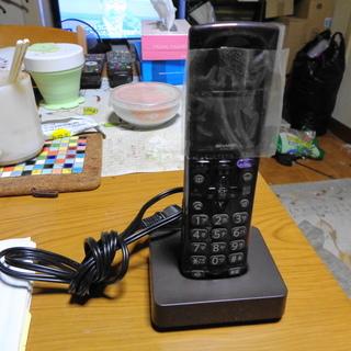 SHARP デジタルコードレス電話機の子機 JD-G55C…