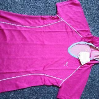 ☆新品☆ プーマ 接触冷感UV フード付きTシャツ