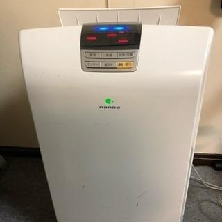 パソニック 加湿機能付き空気清浄機