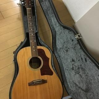 vintage アコースティックギター ハードケース付