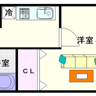 【アドバンス難波レーヴ】2号タイプ!1Kタイプ!かっこいい外観に...