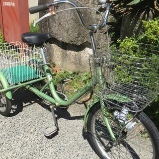 27.三輪自転車(LEDライト、三段変速)