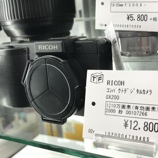 RICOH コンパクトデジタルカメラ GX200 1210万画素