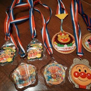 子供のメダル いろいろ