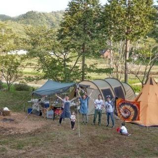 1日1組貸切キャンプ場と宿 篠山森の中 焚き火放題 たけのこ掘り放...