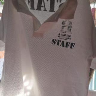 a-nationのスタッフポロシャツ
