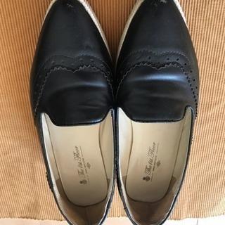 靴 ナノユニバース 黒