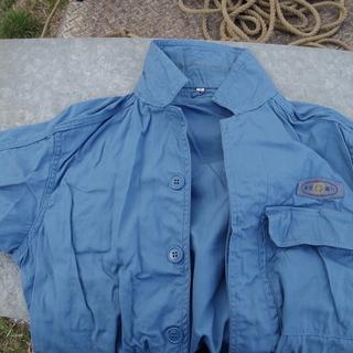 昭和の作業員のコスプレ用 シャツ レプリカ
