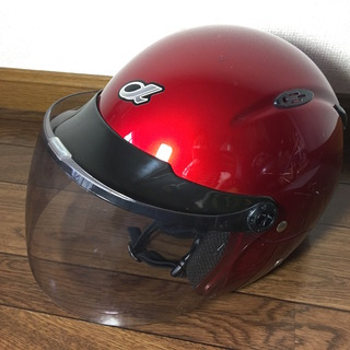 バイク ヘルメット 赤