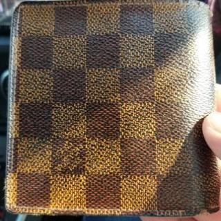 【中古】ヴィトン二つ折り財布