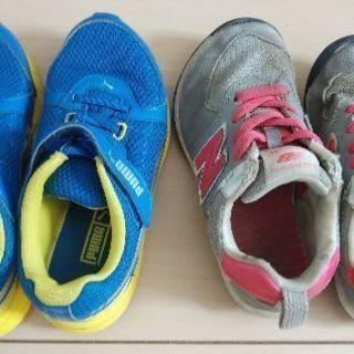 PUMA/ new balance 靴