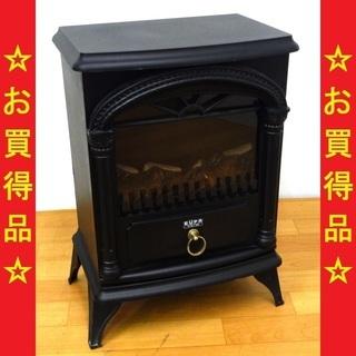 ユーパ/EUPA 2012年製 電気式暖炉 ファンヒーター 鋳物...