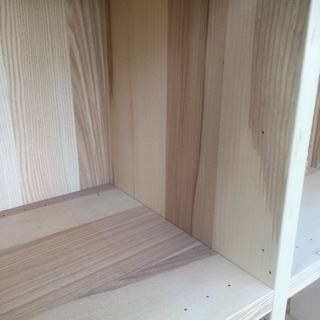 【無料】IKEA 木製棚 TRABY