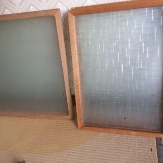 昭和レトロなガラス窓⁇
