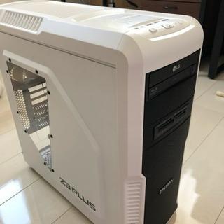 PCケース ZALMAN Z3PLUS-WHITE