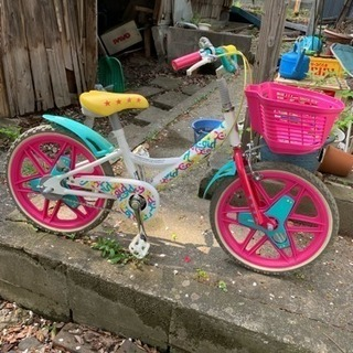 X-GIRL 子供用自転車 使用頻度少なめ